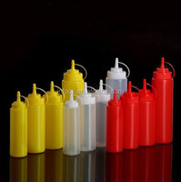 Good selling plastic sauce squeeze bottle / sauce squeeze dispenser