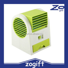 ZOGIFT Leaves handheld outdoor battery small air conditioning fan super cute usb fan