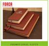 hardcover blank notebook Paperback Promotion PU Notebook day planner hardcover notebook
