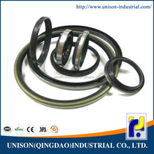 rubber bonded metal shaft seal