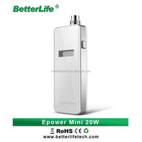 alibaba gold member cheap price huge vapor ecig Epower mini 20w vv vw ecig mod