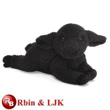 la fábrica de auditoría de la oveja de peluche juguetes ovejas negro juguetes