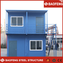easy to transport hydraulic door steel container