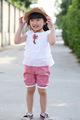 El verano más caliente de edición coreana hermoso cordón de gasa de algodón t- shirt los niños niñas vestido de camisa