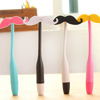 Funny beard design 0.5mm ballpoint pen wholesale China new design high quality function ballpoint pen