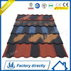 Gold AL-ZN 200g Cooper Green lightweight Metal Roofing Tile and Accessories/Stone Coated Roofing Tile Shingle roofing tile