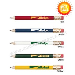 New arrival round wooden golf pencils ,jumbo round pencils