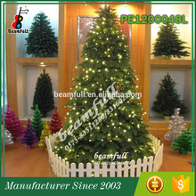 10 years Factory Most popular Decorative lighted christmas cone tree