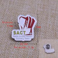 Cheap Pirce High Quality Custom Made Metal rotary badge