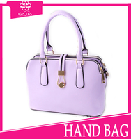 2015 alibaba china online shopping OEM light purple guangzhou hardware no minimum order handbags for women from China supplier
