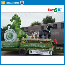 Large inflatable model inflatable animal model horse