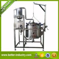 Pure plants essential oil distiller for rose/lavender/sage/sandalwood/agarwood