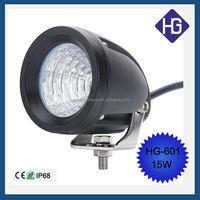factory wholesale 3'' inch mini 10w cob led work light Driving Square Motorcycle SUV Van Spot/Flood beam Truck