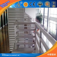 HOT! aluminum ingot suppliers , extruded aluminum profiles / aluminium profile glass railing/aluminium rail