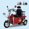 Hot Comfortable Popular 3 wheel Electric Tricycle With Sunny Roof And 2 Passenger Seat