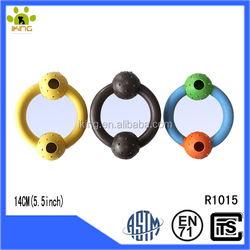 Rubber ring pet chew toy,special shape pet toys