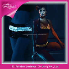 Hot sexy fashion optic fiber luminous lady panty wholesale 2015