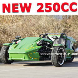 NEW chinese three wheel motorcycle 4 gears 3 wheel motorcycle with one reverse gear,manual cluth 250cc (MC-369)