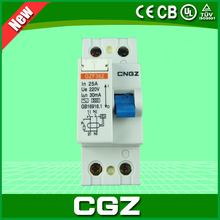 new 2P 4P 6kA rccb rcd rcbo Residual current circuit breaker with CE approval