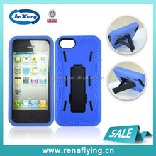Protective blue robot case mobile shell case for iPhone 5 alibaba express
