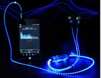 New desigh good quality glow earp hone wire used for earphones
