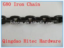 chinas del grado marina de la cadena 80 pesadas cadenas de hierro