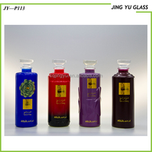 Wholesale Special Shape Glass Bottle 500ML Empty Glass Liquor Bottle Glass Bottle Weight for Whiskey