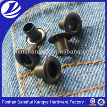 garment eyelet for leather shoes,7 mm high eyelet for garment, rivets and eyelets for shoes V-53