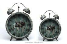 Stand desk antique clock for souvenir