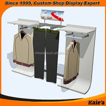 Fashionable clothes store furniture ,store display rack