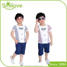 Wholesale cotton kids t shirt blank plain ruffle custom made boys baby t shirt designs pattern styles