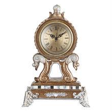 Wholesale Art Metal Antique Desk Clock With Japan Movement,Various Designs