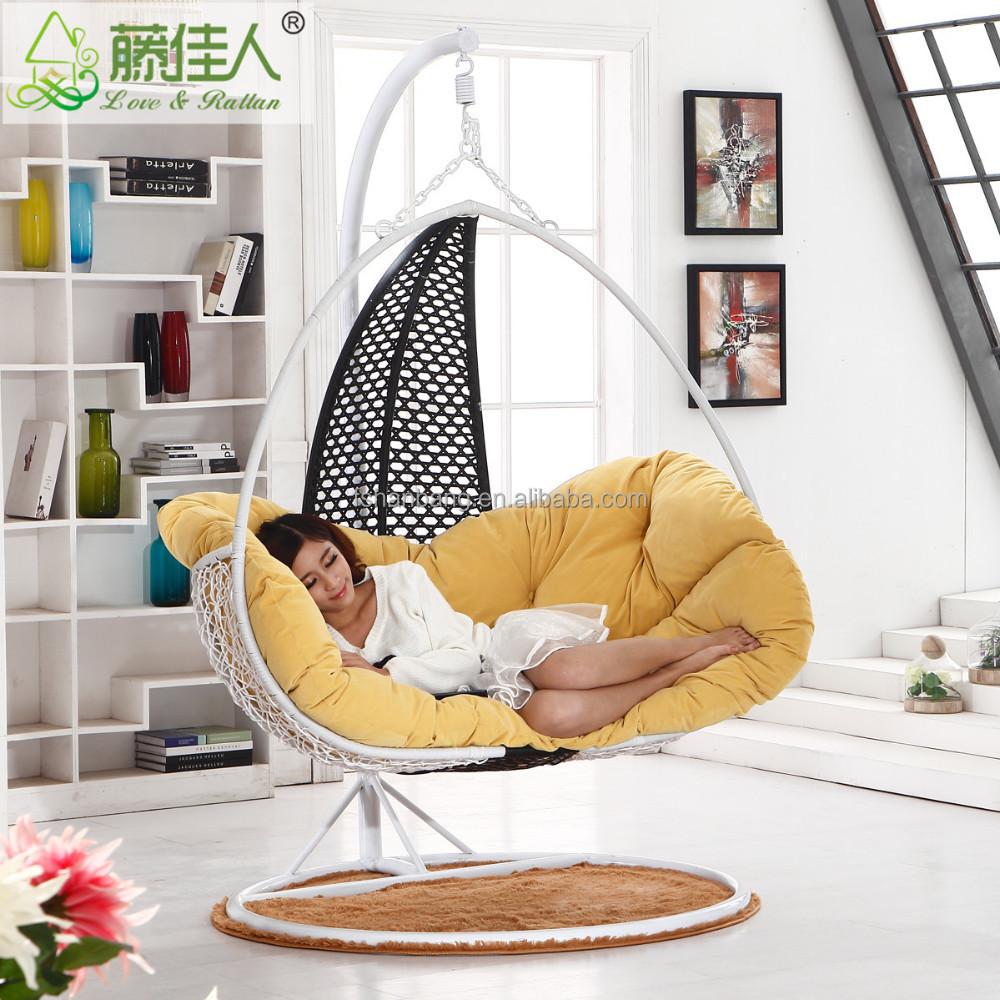 Indoor swings for kids - Indoor Rattan Hanging Chair Swing Buy Hanging Chair Hammock Patio