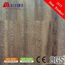 uv coating 100% waterproof floor plastic click wood