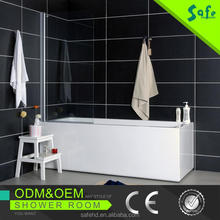 China supplier free standing shower tray custom made