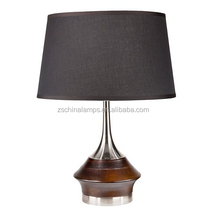 new design artistic table lamp with black barrel shade for home decor CE SAA UL