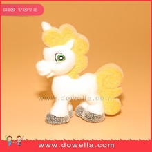 OEM Flocking Plastic Horse Animal Figurines Toy