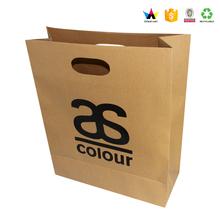 Alibaba wholesale popular printing brown kraft paper bag manufacturers