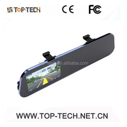 HD car dvr 5inch smart rear view mirror 1080p dvr(TP-C002 Black)