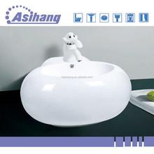 AS8050 ceramic wall hung bathroom basin