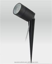 IP68 8w AC led light garden spot lights/garden led light/garden spike led light(SC-F113A)