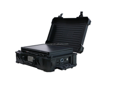 portable solar panel generator for meeting an emergency or outdoor activity