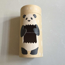 Custom cardboard gift tube with special shape window
