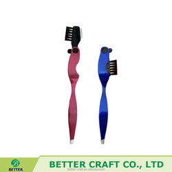 2015 New design Multifunctional Eyebrow Tweezer