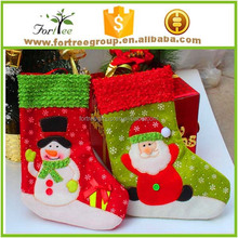 custom fashion new design man cheap promotion printed christmas sock