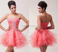 2014 Fashion Sweetheart beading organza beaded bodice prom dresses Modern Formal Party Prom Gowns Cocktail dresses FXL-918