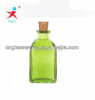 Transparent Borosilicate Glass Bottle With Cork