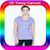 girls fitness t shirt wholesale blank cheap t shirt 100 cotton t shirt manufacturer in China