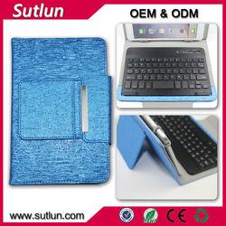 Folding wireless bluetooth keyboard case for ipad 2 ipad mini1 2 3 ipad air air 2