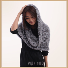2014 fashion lady natural bamboo fiber taiwan magic scarf multicolor knitted scarf